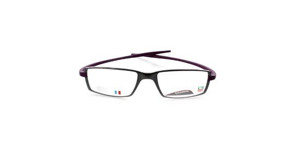 Designové antracitovo-fialové obroučky Tag Heuer