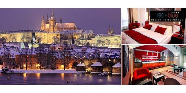 Designový hotel v Praze pro dva