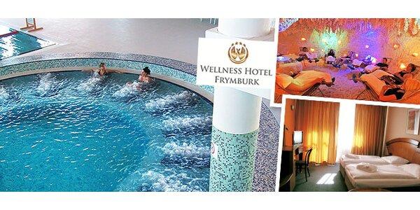 3denní wellness na Lipně. 4* hotel, aquapark neomezeně