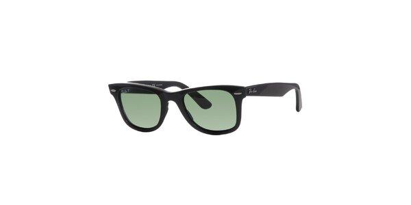 Černé polarizované sluneční brýle Ray-Ban Original Wayfarer