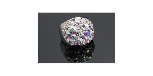 Dámský duhový prsten Swarovski