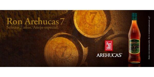 Sedmiletý Rum Arehucas 0,7 l (40%) Výjimečný rum z Kanárský ostrovů