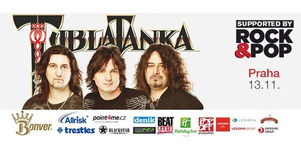 Tublatanka v Praze 13. 11.: 1+1 vstupenka na koncert