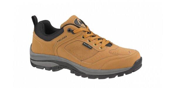 Hnědo-oranžová nízká trekingová obuv Head