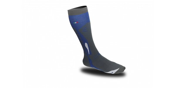 Modro-šedé lyžařské ponožky West Scout