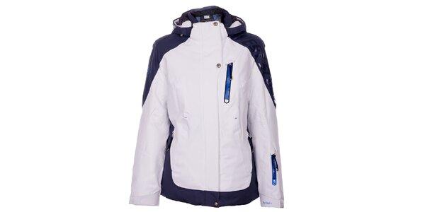 Dámská bílá zimní lyžařská bunda West Scout s membránou