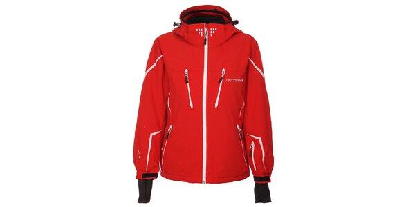 Dámská červená lyžařská bunda Trimm Celine s membránou