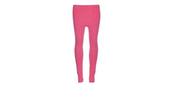 Dámské růžové podvlékací kalhoty Envy