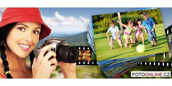 Vyvolání 100 digitálních fotek velikosti 10×15 cm.