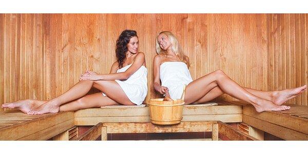 Hodina v privátní sauně až pro čtyři osoby