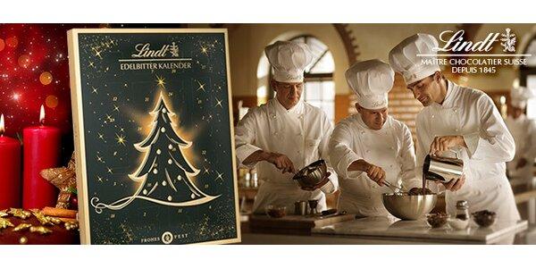 Luxusní adventní čokoládový kalendář Lindt