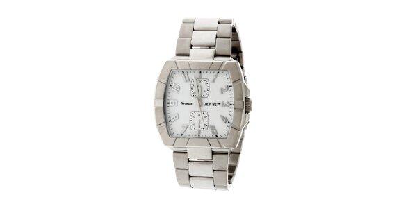Dámské ocelové náramkové hodinky Jet Set