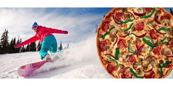 Pizza a skipas na celý den nebo na hodinu. Ostravice