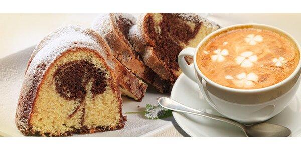 DVĚ domácí bábovky a DVĚ kávy dle výběru