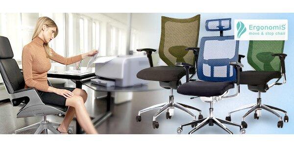 Ergonomická židle pro zdravá záda