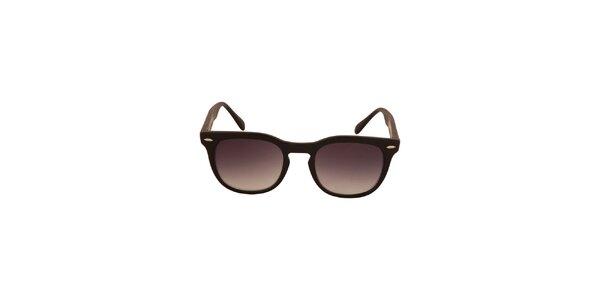 Černé sluneční brýle s tónovanými černými skly No Limits