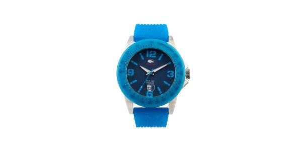 Tyrkysově modré analogové hodinky No Limits