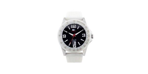 Bílé analogové hodinky No Limits
