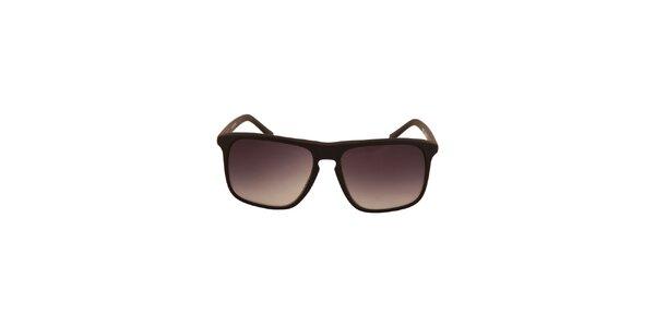 Černé sluneční brýle s černými tónovanými skly No Limits