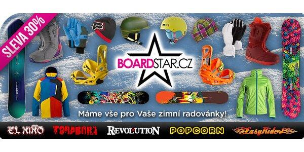 30% sleva komplet sortiment BoardStar.cz