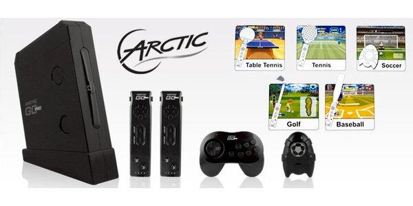 Výprodej! Nabušená herní konzole Arctic se 48 hrami.
