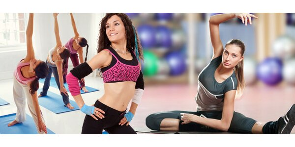 Vstup nebo permanentka do fitness na zumbu, pilates a další