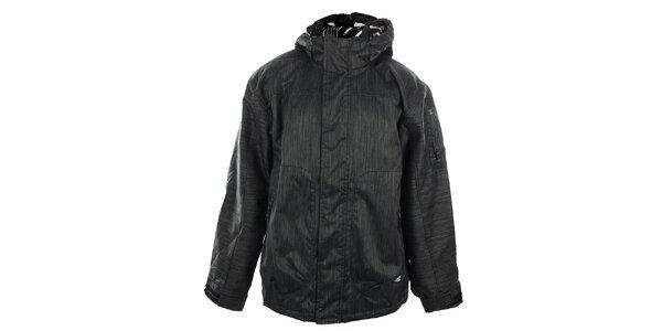 Pánská ocelově šedá funkční bunda s žíháním Meatfly