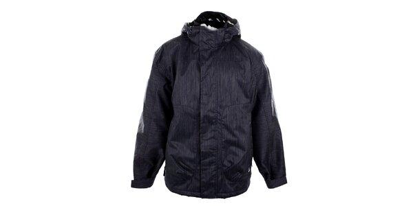 Pánská modrá funkční bunda s žíháním Meatfly