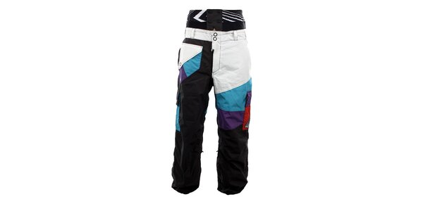 Pánské barevné snowboardové kalhoty Meat Fly