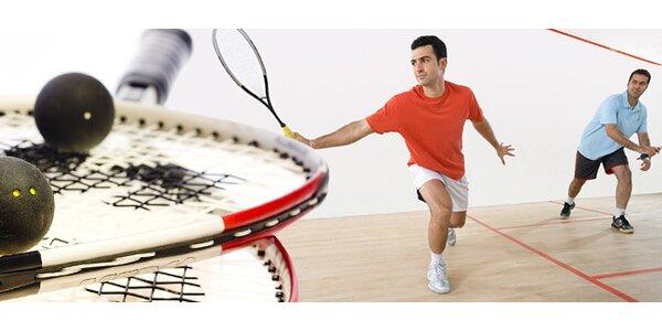 2hodinový kurz squashe pod vedením profi trenéra