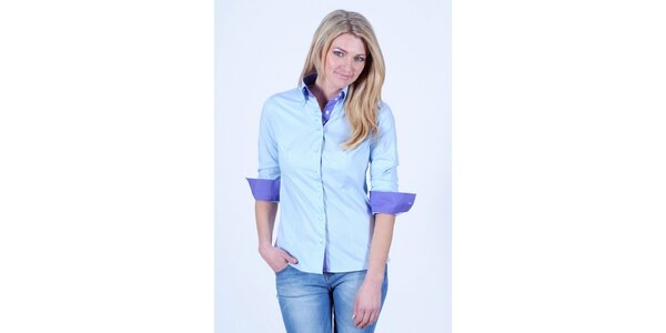 Dámská modrá košile Pontto