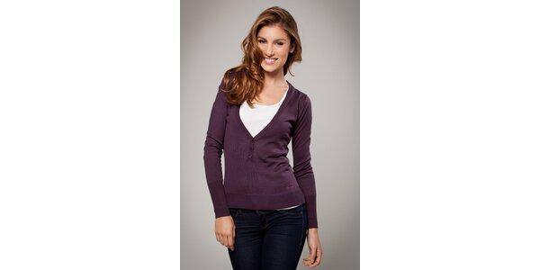 Dámský tmavě fialový svetřík Ungaro