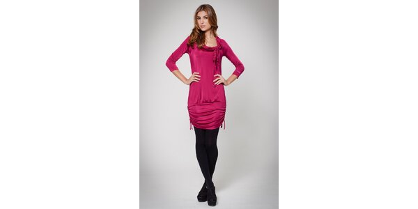 Dámské růžové šaty Ungaro