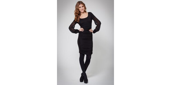 Dámské černé šaty Ungaro