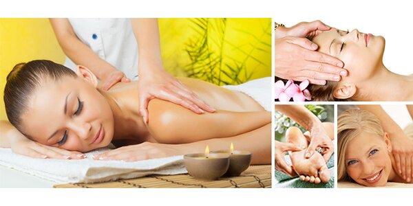 Sportovní a relaxační masáž na míru