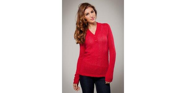 Dámský červený svetr Ungaro