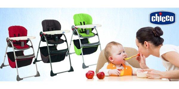 Jídelní židlička Chicco Happy Snack