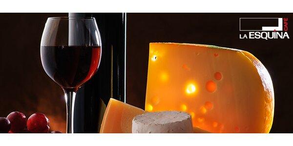 Svatomartinské víno a variace sýrů v La Esquina Cafe
