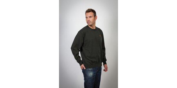 Pánský černý svetr Spagnolo