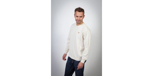 Pánský bílý svetr Spagnolo