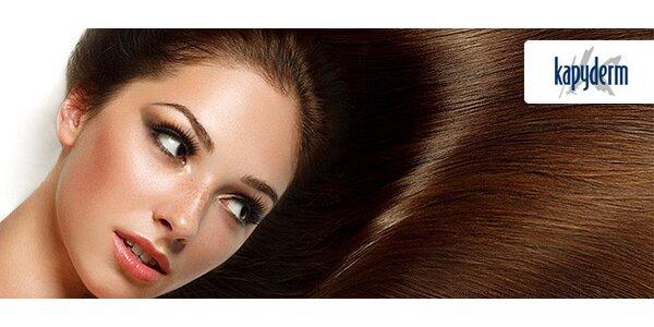 90minutové ozdravné ošetření vlasů metodou Kapyderm