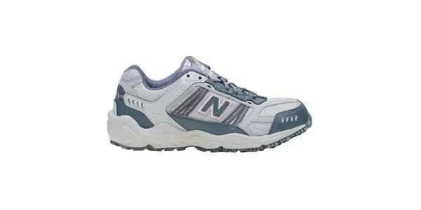 Dámské světle šedé terénní běžecké boty New Balance