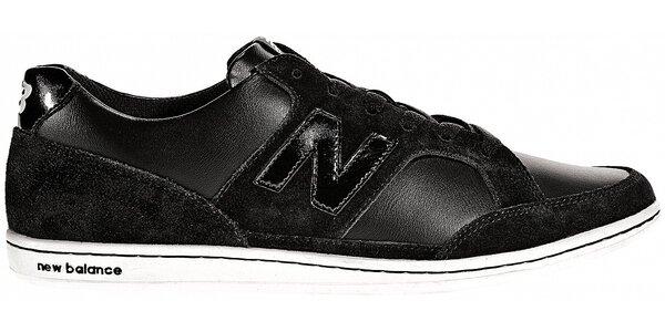 Dámské černé kožené tenisky New Balance