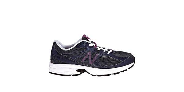 Dámské fialovo-černé běžecké boty New Balance