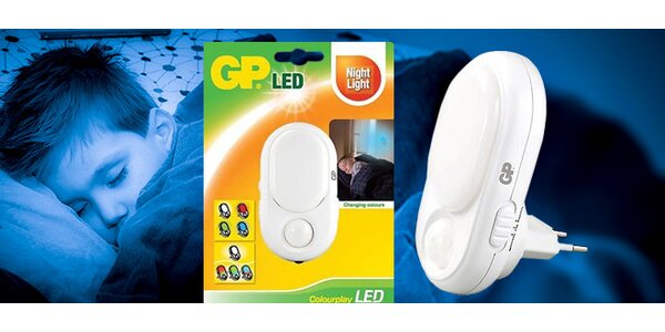 Noční LED světlo značky GP