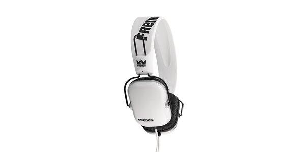 Designová bílá sluchátka Frends