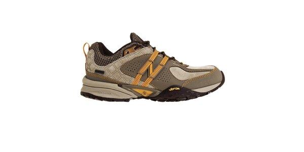 Dámské světle hnědé trekingové boty New Balance