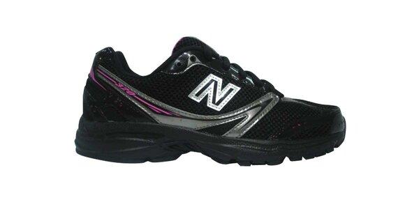 Dámské černé běžecké boty New Balance
