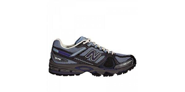 Dámská šedo-modrá terénní běžecká obuv New Balance