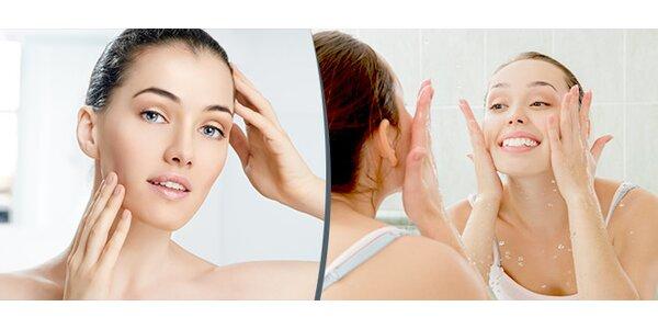 Luxusní ošetření pleti s čistící a regenerační kůrou